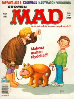 MAD Magazine #74 • Finland • 2nd Edition - Semic