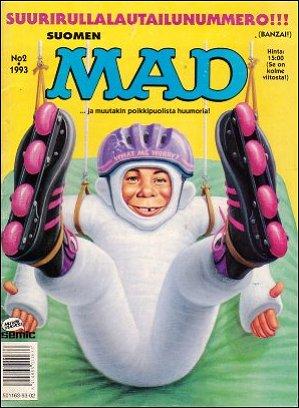 MAD Magazine #75 • Finland • 2nd Edition - Semic