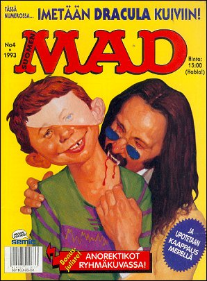 MAD Magazine #77 • Finland • 2nd Edition - Semic