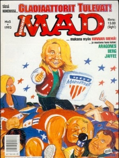 Go to MAD Magazine #78 • Finland • 2nd Edition - Semic