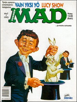 MAD Magazine #7 • Finland • 2nd Edition - Semic