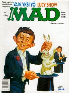 Go to MAD Magazine #80 • Finland • 2nd Edition - Semic
