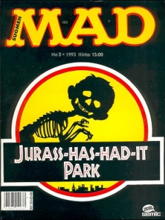 Go to MAD Magazine #81 • Finland • 2nd Edition - Semic