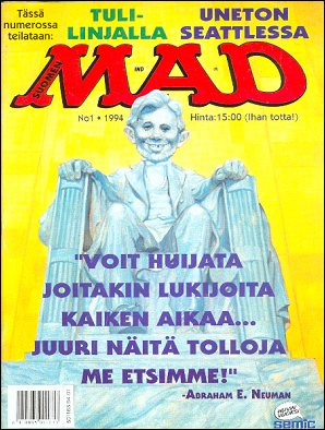 MAD Magazine #82 • Finland • 2nd Edition - Semic