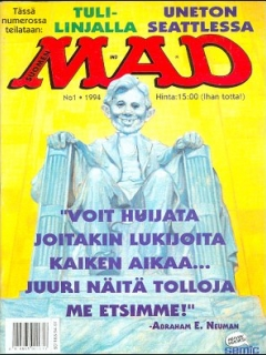 Go to MAD Magazine #82 • Finland • 2nd Edition - Semic