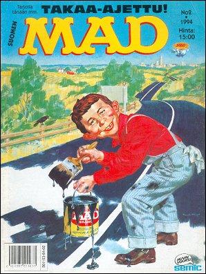 MAD Magazine #83 • Finland • 2nd Edition - Semic