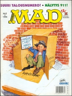Go to MAD Magazine #84 • Finland • 2nd Edition - Semic