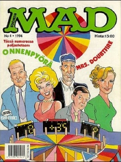 Go to MAD Magazine #85 • Finland • 2nd Edition - Semic