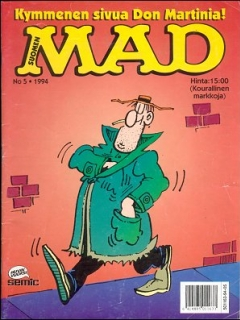 Go to MAD Magazine #86 • Finland • 2nd Edition - Semic
