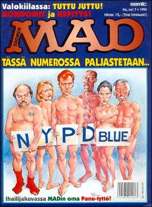 MAD Magazine #88 • Finland • 2nd Edition - Semic