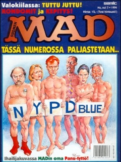 Go to MAD Magazine #88 • Finland • 2nd Edition - Semic