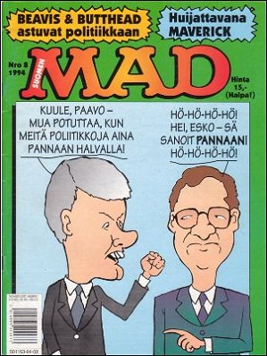 MAD Magazine #89 • Finland • 2nd Edition - Semic