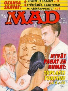 Go to MAD Magazine #90 • Finland • 2nd Edition - Semic