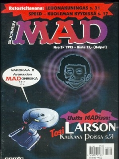 Go to MAD Magazine #91 • Finland • 2nd Edition - Semic