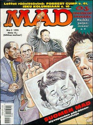 MAD Magazine #92 • Finland • 2nd Edition - Semic