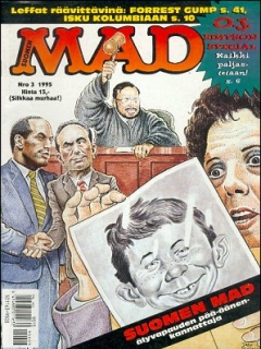 Go to MAD Magazine #92 • Finland • 2nd Edition - Semic