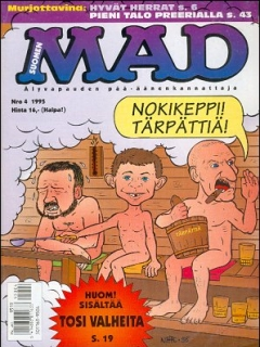 Go to MAD Magazine #93 • Finland • 2nd Edition - Semic