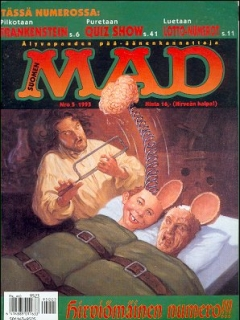Go to MAD Magazine #94 • Finland • 2nd Edition - Semic