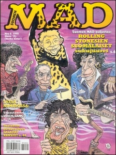Go to MAD Magazine #95 • Finland • 2nd Edition - Semic