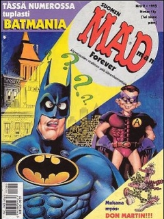 Go to MAD Magazine #98 • Finland • 2nd Edition - Semic