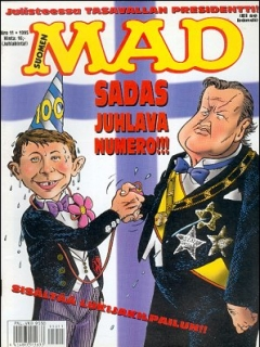 Go to MAD Magazine #100 • Finland • 2nd Edition - Semic