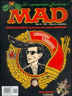 Go to MAD Magazine #101 • Finland • 2nd Edition - Semic