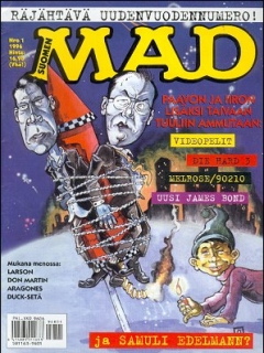 Go to MAD Magazine #102 • Finland • 2nd Edition - Semic