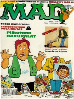 Go to MAD Magazine #104 • Finland • 2nd Edition - Semic