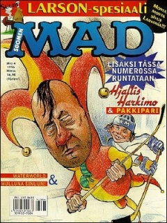 Go to MAD Magazine #105 • Finland • 2nd Edition - Semic