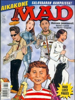Go to MAD Magazine #107 • Finland • 2nd Edition - Semic