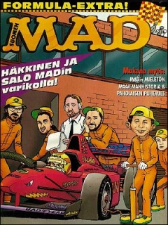 Go to MAD Magazine #109 • Finland • 2nd Edition - Semic