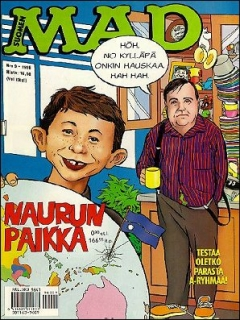 Go to MAD Magazine #110 • Finland • 2nd Edition - Semic