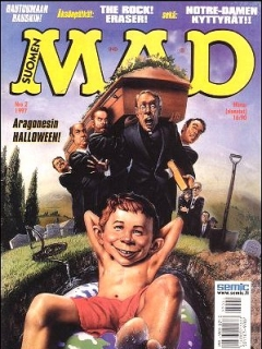 Go to MAD Magazine #115 • Finland • 2nd Edition - Semic