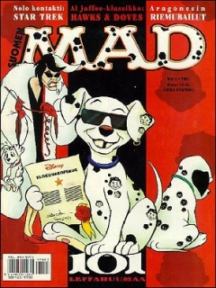 Go to MAD Magazine #116 • Finland • 2nd Edition - Semic