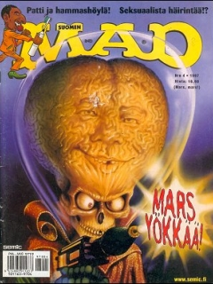 Go to MAD Magazine #117 • Finland • 2nd Edition - Semic