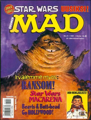 MAD Magazine #5 • Finland • 2nd Edition - Semic