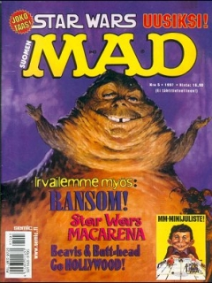 Go to MAD Magazine #118 • Finland • 2nd Edition - Semic