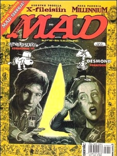 Go to MAD Magazine #122 • Finland • 2nd Edition - Semic