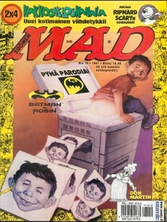 Go to MAD Magazine #123 • Finland • 2nd Edition - Semic