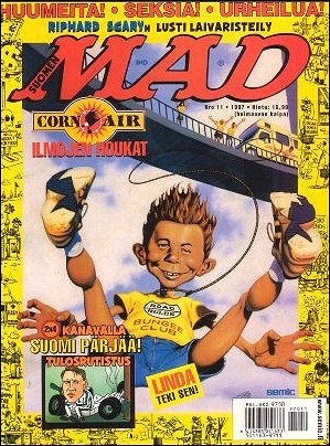 MAD Magazine #124 • Finland • 2nd Edition - Semic