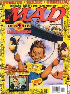 Go to MAD Magazine #124 • Finland • 2nd Edition - Semic