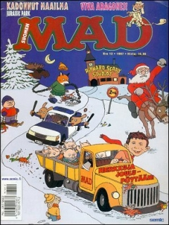 Go to MAD Magazine #125 • Finland • 2nd Edition - Semic