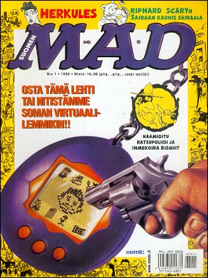 MAD Magazine #126 • Finland • 2nd Edition - Semic