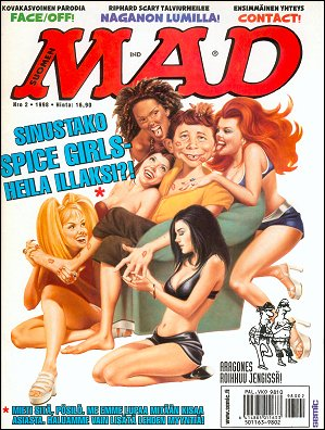 MAD Magazine #2 • Finland • 2nd Edition - Semic