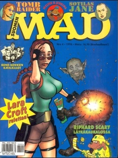 Go to MAD Magazine #129 • Finland • 2nd Edition - Semic