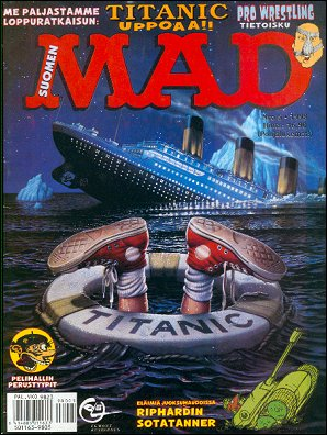 MAD Magazine #130 • Finland • 2nd Edition - Semic