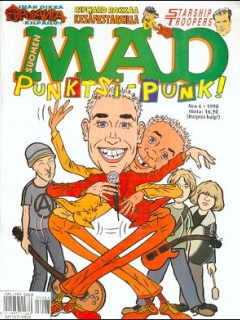 Go to MAD Magazine #131 • Finland • 2nd Edition - Semic