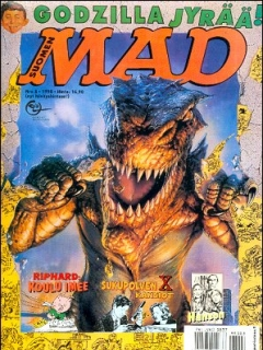 Go to MAD Magazine #133 • Finland • 2nd Edition - Semic