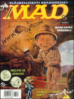 Go to MAD Magazine #134 • Finland • 2nd Edition - Semic