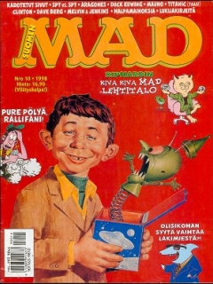 MAD Magazine #135 • Finland • 2nd Edition - Semic